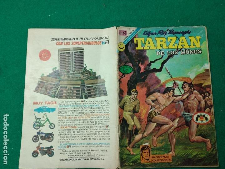 TARZAN DE LOS MONOS Nº 310. 7 SEPTIEMBRE 1972. EDITORIAL NOVARO (Tebeos y Comics - Novaro - Tarzán)