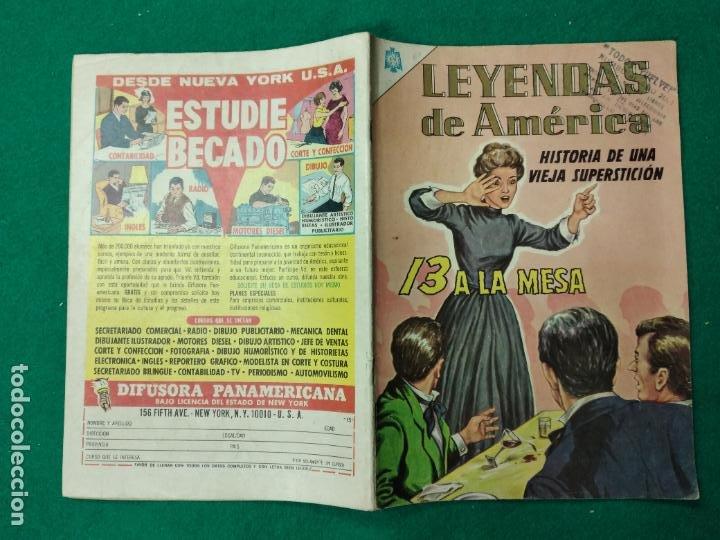 LEYENDAS DE AMERICA Nº 119. 1 DE JULIO DE 1965. EDITORIAL NOVARO. (Tebeos y Comics - Novaro - Otros)