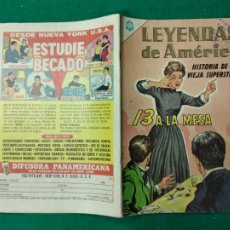 Tebeos: LEYENDAS DE AMERICA Nº 119. 1 DE JULIO DE 1965. EDITORIAL NOVARO.. Lote 253245070