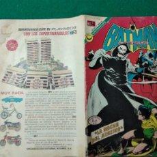 Tebeos: BATMAN Nº 646 7 DE SEPTIEMBRE DE 1972. EDITORIAL NOVARO. MUY DIFICIL.. Lote 253246580