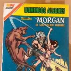 Tebeos: DOMINGOS ALEGRES, Nº 2 - 1.434. NOVARO - SERIE AGUILA, 1982. MORGAN, EL GUERRERO AUDAZ.. Lote 253268465