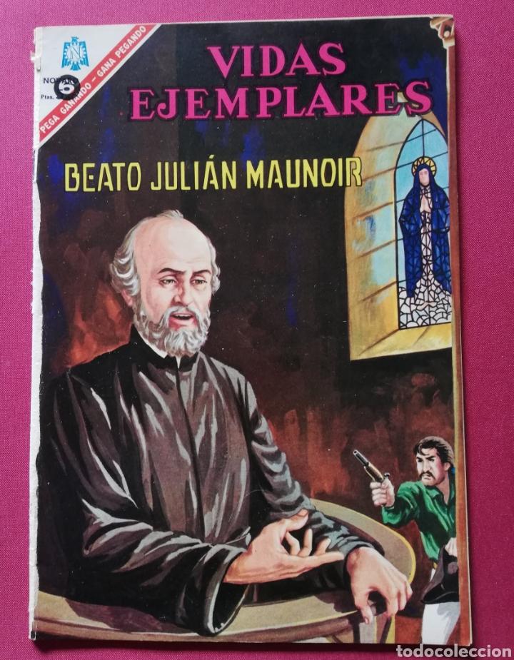 BEATO JULIAN MAUNOIR (Tebeos y Comics - Novaro - Vidas ejemplares)