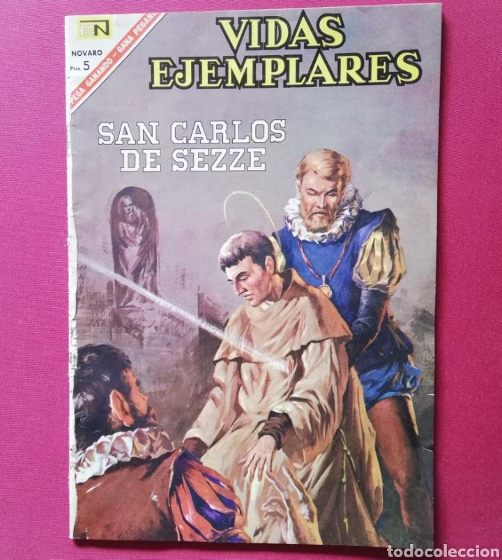 SAN CARLOS DE SEZZE (Tebeos y Comics - Novaro - Vidas ejemplares)