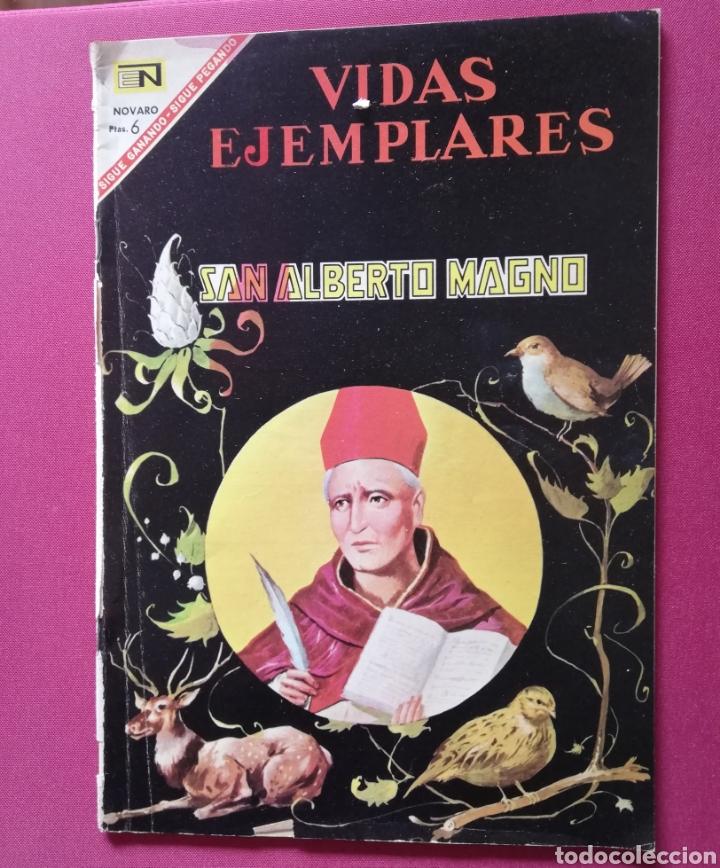 SAN ALBERTO MAGNO (Tebeos y Comics - Novaro - Vidas ejemplares)
