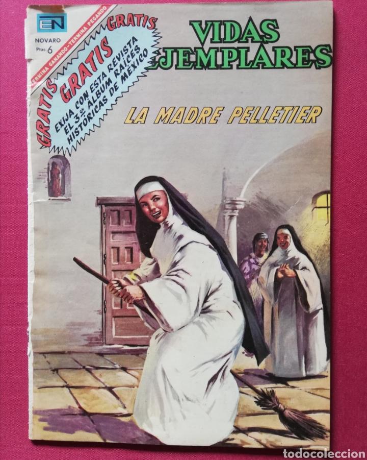 LA MADRE PELLETIER (Tebeos y Comics - Novaro - Vidas ejemplares)