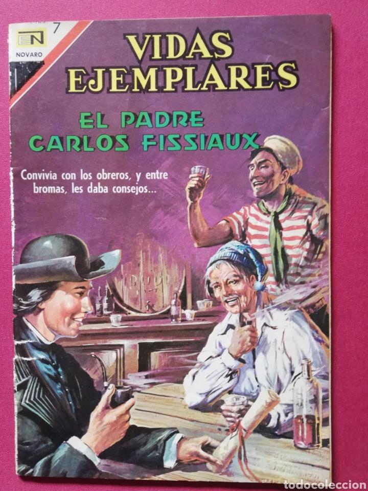 EL PADRE CARLOS FISSIAUX (Tebeos y Comics - Novaro - Vidas ejemplares)