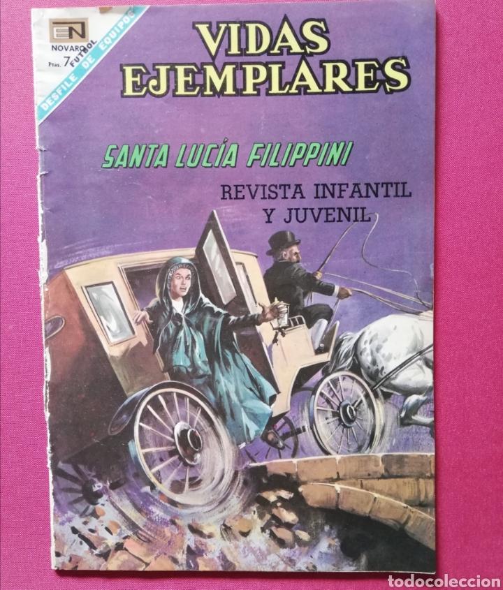 SANT LUCÍA FILIPPINI (Tebeos y Comics - Novaro - Vidas ejemplares)