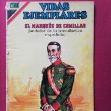 Tebeos: EL MARQUÈS DE COMILLAS. FUNDADOR DE LA TRASATLÁNTICA ESPAÑOLA.. Lote 253310510