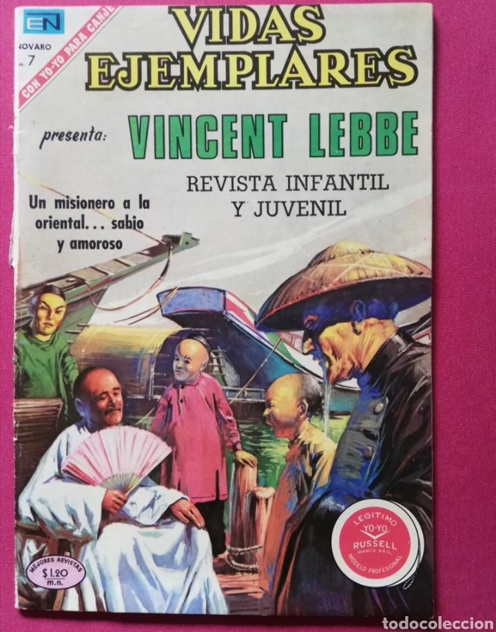 VINCENT LEBBE, UN MISIONERO A LA ORIENTAL. (Tebeos y Comics - Novaro - Vidas ejemplares)