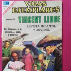 Tebeos: VINCENT LEBBE, UN MISIONERO A LA ORIENTAL.. Lote 253311355