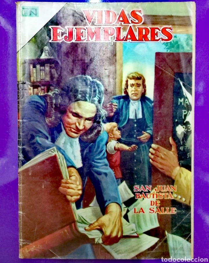 SAN JUAN BAUTISTA DE LA SALLE (Tebeos y Comics - Novaro - Vidas ejemplares)