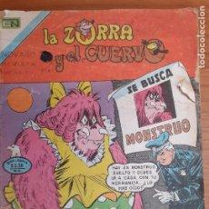 Tebeos: LA ZORRA Y EL CUERVO Nº 379. NOVARO 1975. ALGUNA FALTA. Lote 253868540