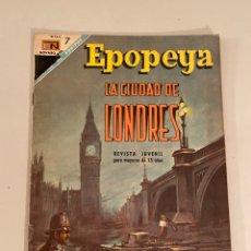 Tebeos: EPOPEYA. Lote 253927300