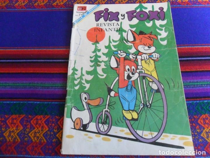 Tebeos: FIX Y FOXI NºS 61 Y 73. NOVARO 1968. REGALO Nº 59. BUEN ESTADO. - Foto 3 - 50232922