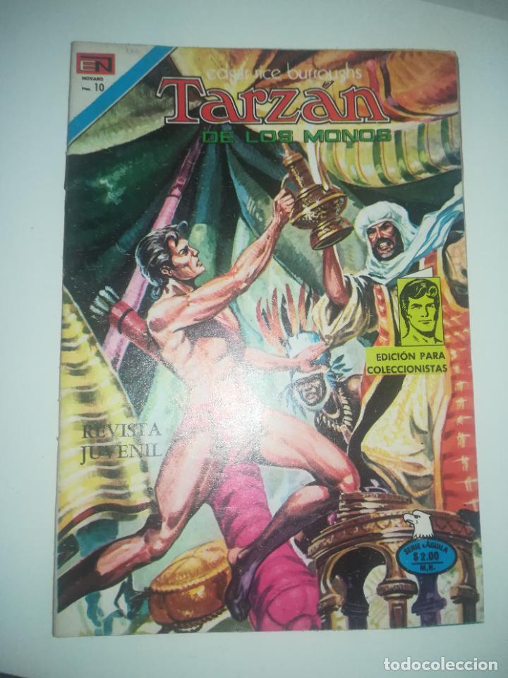 TARZAN DE LOS MONOS #463 (Tebeos y Comics - Novaro - Tarzán)