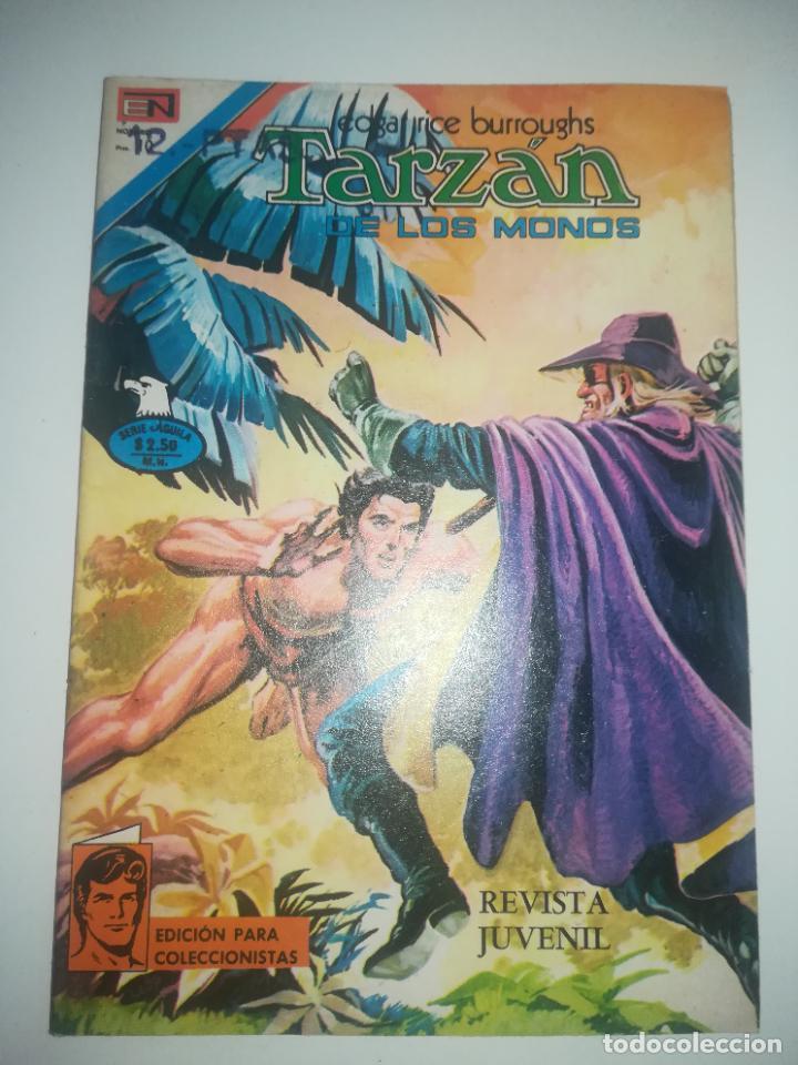 TARZAN DE LOS MONOS #467 (Tebeos y Comics - Novaro - Tarzán)