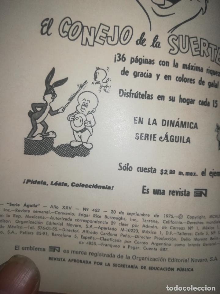 Tebeos: TARZAN DE LOS MONOS #462 - Foto 2 - 254381525
