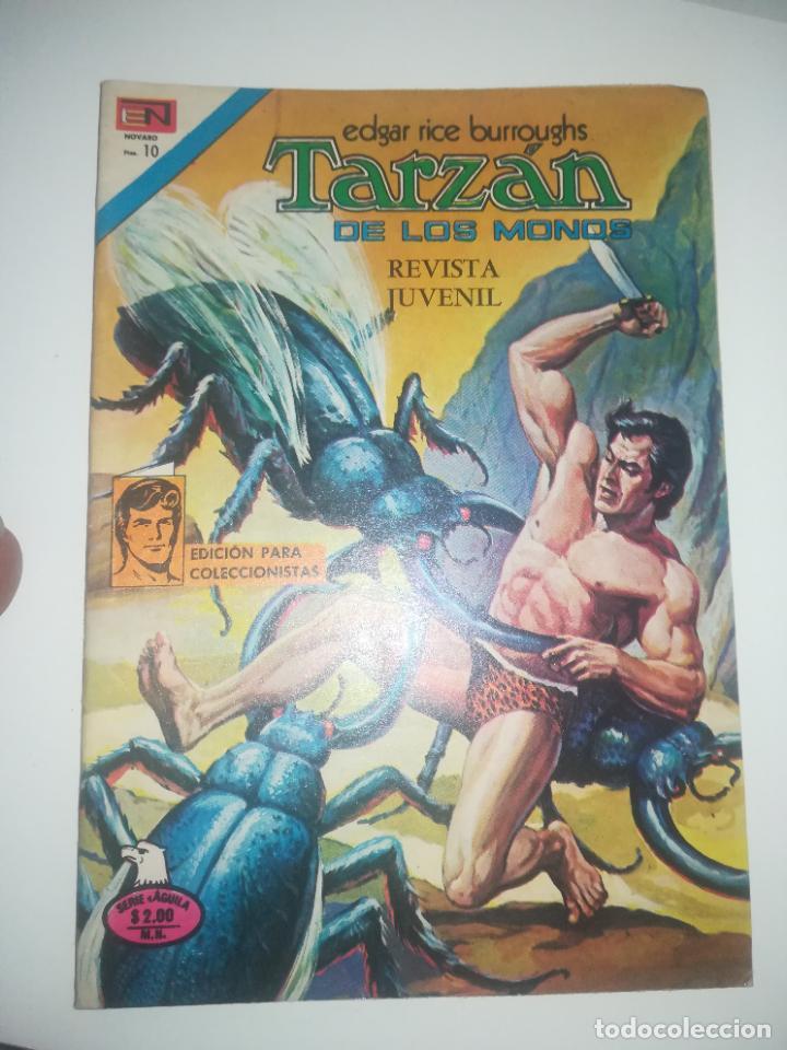 TARZAN DE LOS MONOS #462 (Tebeos y Comics - Novaro - Tarzán)
