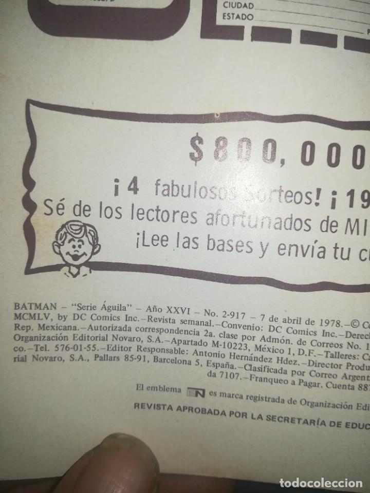Tebeos: BATMAN #2-917 - Foto 2 - 254381620