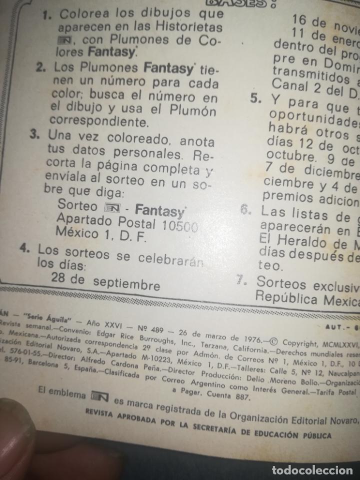 Tebeos: TARZAN DE LOS MONOS #489 - Foto 2 - 254381665