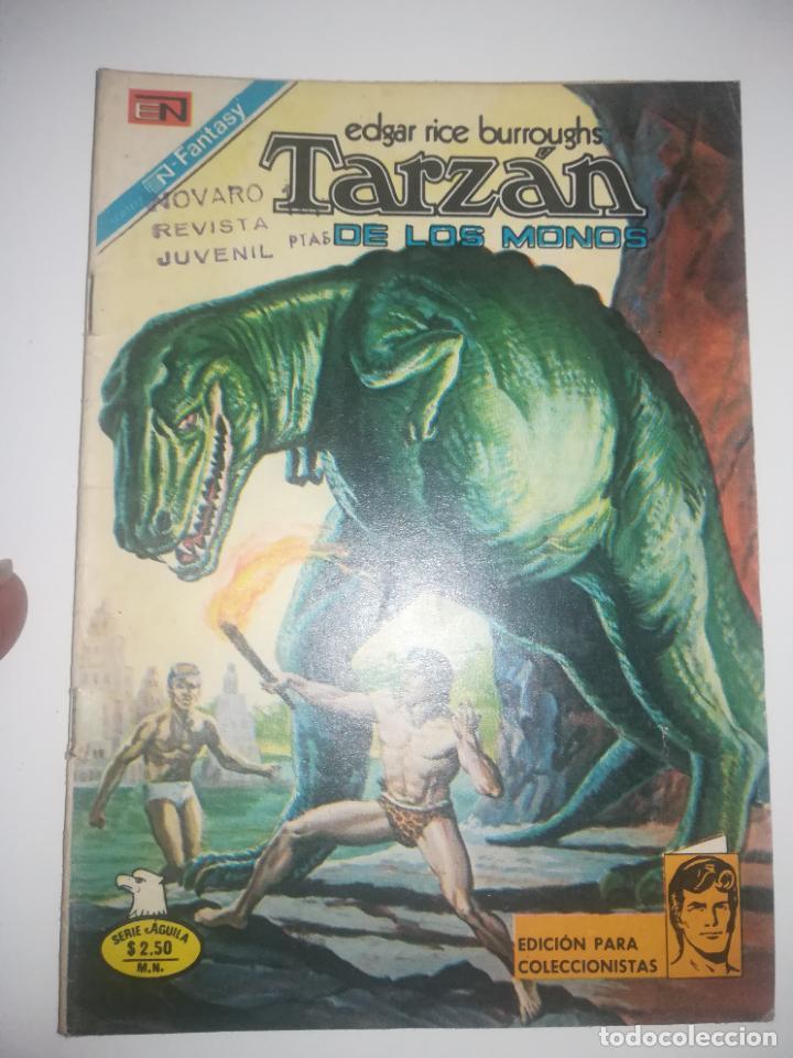 TARZAN DE LOS MONOS #489 (Tebeos y Comics - Novaro - Tarzán)