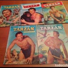 Tebeos: TARZAN DE LA EDITORIAL NOVARO LOTE DEL NUMERO 1 AL 184 INCLUSIVE. Lote 254439055