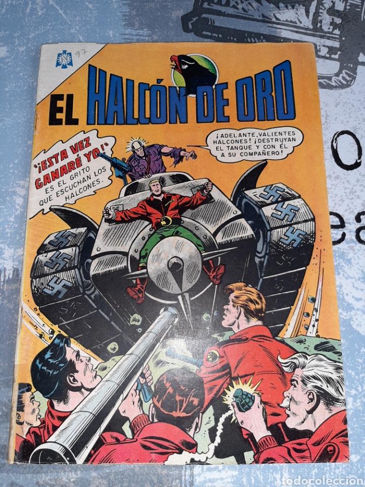 EL HALCÓN DE ORO 97, NOVARO (Tebeos y Comics - Novaro - Sci-Fi)