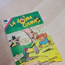 Tebeos: BASTANTE NUEVO LA ZORRA Y EL CUERVO AÑO XXI 273 TEBEOS COMICS NOVARO. Lote 254484910