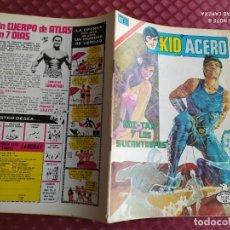 Tebeos: NOVARO AÑO I Nº 8 KID ACERO SERIE AGUILA BUEN ESTADO. Lote 254632210