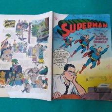 Tebeos: SUPERMAN Nº 51. 1 DE MAYO DE 1955. EDITORIAL NOVARO. Lote 254716990