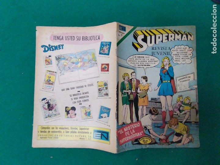 SUPERMAN Nº 848. 23 FEBRERO 1972. EDITORIAL NOVARO (Tebeos y Comics - Novaro - Superman)