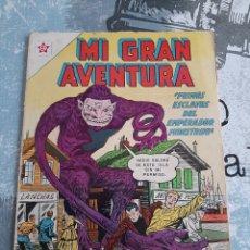 BDs: MI GRAN AVENTURA N° 21, NOVARO 1961. Lote 254775795