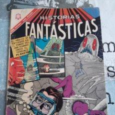 Livros de Banda Desenhada: HISTORIAS FANTÁSTICAS N° 160, NOVARO 1966. Lote 254778940