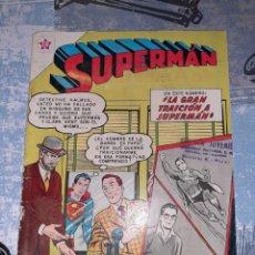 Tebeos: SUPERMÁN N°256 , NOVARO 1960. Lote 254821480
