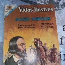 Tebeos: VIDAS ILUSTRES N° 180, TENNYSON, NOVARO 1968. Lote 254887815