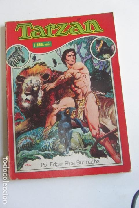 TARZAN LIBRO COMIC TOMO 1 NOVARO ARX90 (Tebeos y Comics - Novaro - Tarzán)