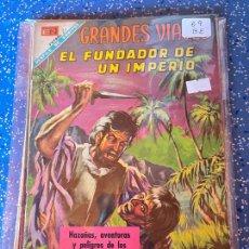 Tebeos: NOVARO GRANDES VIAJES NUMERO 69 BUEN ESTADO. Lote 255358495
