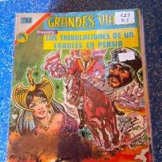 Tebeos: NOVARO GRANDES VIAJES NUMERO 123 BUEN ESTADO. Lote 255359080