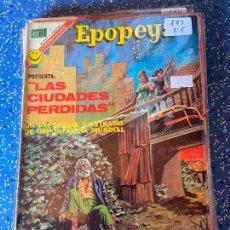 Tebeos: NOVARO EPOPEYA NUMERO 197 NORMAL ESTADO. Lote 255363580