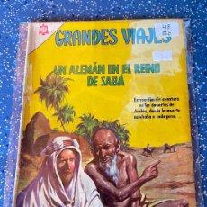 Tebeos: NOVARO GRANDES VIAJES NUMERO 43 REGULAR ESTADO. Lote 255373870