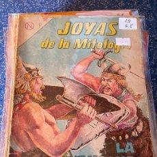 Tebeos: NOVARO JOYAS DE LA MITOLOGIA NUMERO 12 REGULAR ESTADO. Lote 255374970
