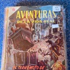Tebeos: NOVARO AVENTURAS DE LA VIDA REAL NUMERO 69 REGULAR ESTADO. Lote 255375315