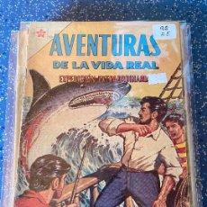 Tebeos: NOVARO AVENTURAS DE LA VIDA REAL NUMERO 92 REGULAR ESTADO. Lote 255375425