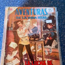 Tebeos: NOVARO AVENTURAS DE LA VIDA REAL NUMERO 66 REGULAR ESTADO. Lote 255375635