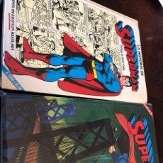 Giornalini: SUPERMAN LA HISTORIA Y EXTRA 2. VOLÚMENES DE NOVARO.. Lote 255392480