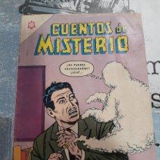 Livros de Banda Desenhada: CUENTOS DE MISTERIO N° 69, NOVARO 1965. Lote 255620320