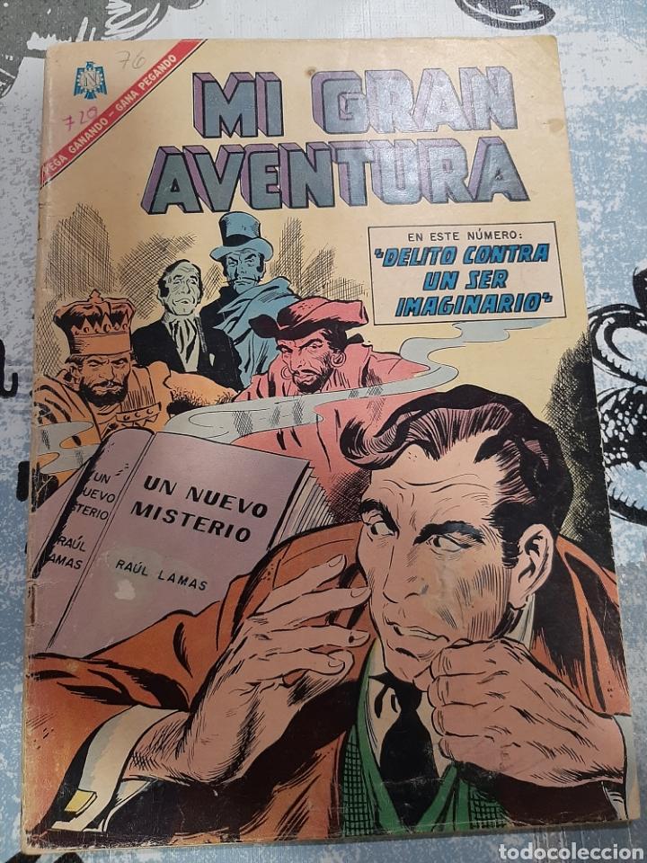 MI GRAN AVENTURA N° 76, NOVARO 1966 (Tebeos y Comics - Novaro - Sci-Fi)