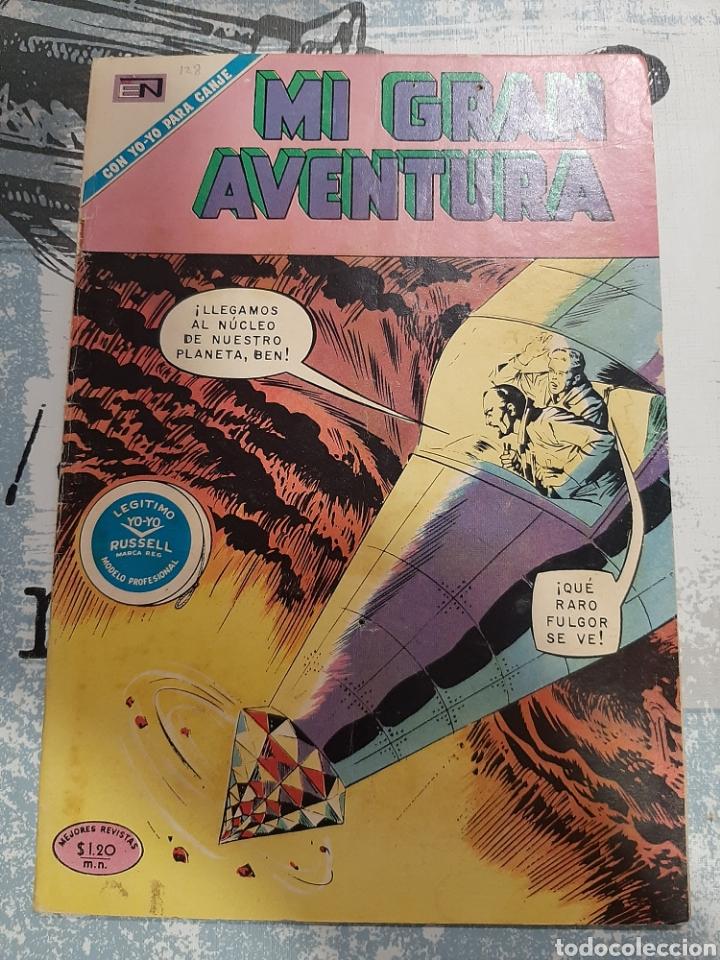 MI GRAN AVENTURA N° 128, NOVARO 1971 (Tebeos y Comics - Novaro - Sci-Fi)