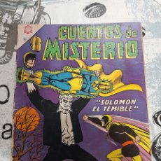 Livros de Banda Desenhada: CUENTOS DE MISTERIO N° 80, NOVARO 1966. Lote 255632530