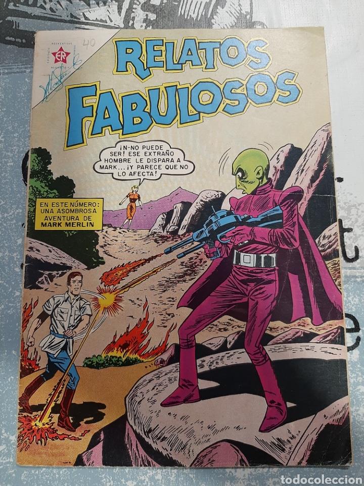 RELATOS FABULOSOS N°40, NOVARO 1962 (Tebeos y Comics - Novaro - Sci-Fi)